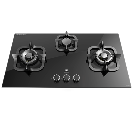 90cm Potenza Gas Hob with 3 burners